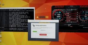 Asus P104-100 4GB Nicehash Mining Hashrate 2