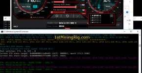 Asus Strix GTX 1080 Ti 11GB Mining Rig Ethereum Dual Mining Verge blake2s hashrate