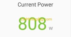 rx 470 4gb mining rig Ethereum dual mining Verge blake2s power consumption