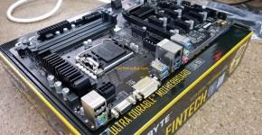Gigabyte B250-FinTech 12 GPU Mininig Motherboard Side