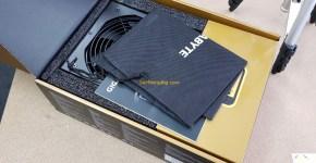 Gigabyte G750G Unboxing 1