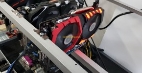 Gigabyte GTX 1050 Ti 4GB Mining Rig dstm's ZCash Cuda miner