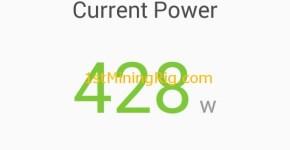 MSI GTX 1060 6GB Gaming X Bitcoin Gold BTG Mining Power Consumption