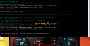 MSI GTX 1060 6GB Gaming X Ethereum Dual Mining Pascal Hashrate