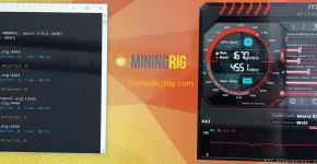 MSI GTX 1060 Armor 3GB Ethereum Dual Mining Pascal Coin Hashrate