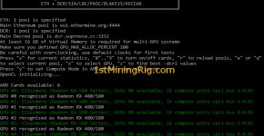 Sapphire Nitro+ RX 580 8GB Ckaymore's v11.6 Ethereum Mining Benchmark