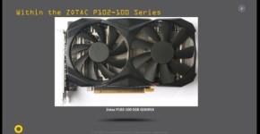 Zotac P102-100 5GB GDDR5X ZT-M10200A-10B 1