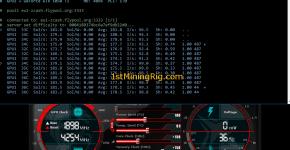 dstm's ZCash Cuda miner Gigabyte GTX 1050 Ti 4GB Mining Hashrate