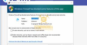 Purk GUI Wallet firewall