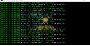 gtx 1080 ti 3x gpu mining rig CCminer v2.2.5 hashrate benchmark 1
