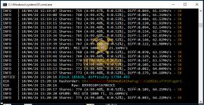 gtx 1080 ti 3x gpu mining rig z-enemy-1.08 miner hashrate benchmark 2