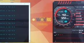 Gigabyte P104-100 4GB Ethereum Mining Hashrate Overclock