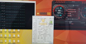 Gigabyte P104-100 Ethereum Hashrate Default Clocks