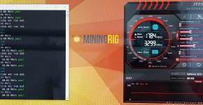 EVGA GTX 1070 Ti LUXcoin PHI Mining Hashrate