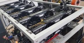 EVGA GTX 1070 Ti SC Gaming Black Edition ETH, XMR, ZEC, NXS, LUX, RVN Mining Rig 2