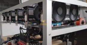 EVGA GTX 1070 Ti SC Gaming Black Edition ETH, XMR, ZEC, NXS, LUX, RVN Mining Rig 6