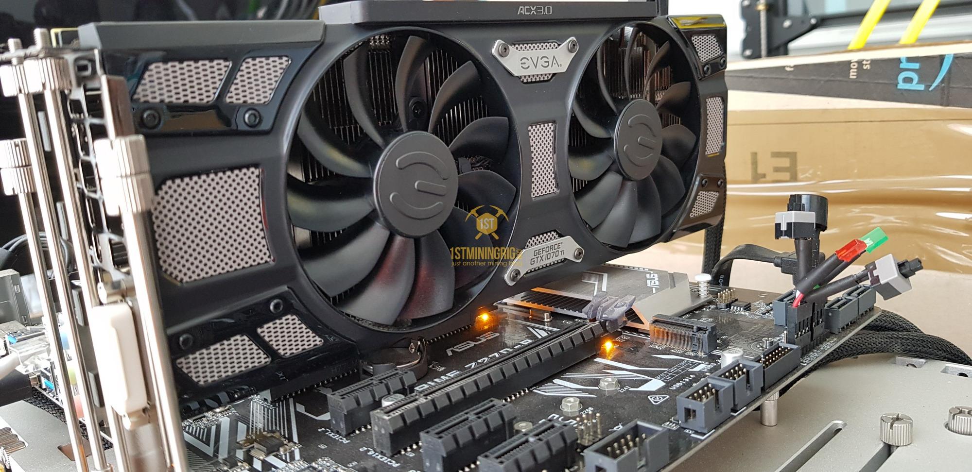 EVGA GTX 1070 Ti SC Gaming Black Edition - Mining Performance and