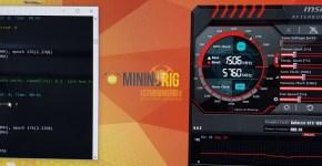 MSI GTX 1080 Ti Ethereum Dual Mining Verge B2s Hashrate Overclock