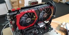 MSI GTX 1080 Ti Mining Hashrate Benchmark 1