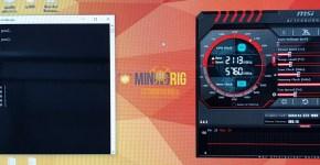 MSI GTX 1080 Ti Monero CryptoNight Mining Hashrate Overclock