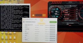 MSI GTX 1080 Ti NiceHash Benchmark 3
