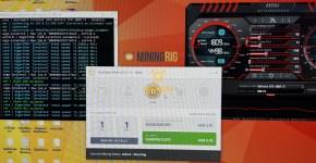 MSI GTX 1080 Ti NiceHash Benchmark 4