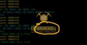 GTX 1050 Ti 4GB Bitcoin Gold Equihash-BGT Mining Hashrate