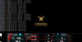 MSI GTX 1060 T-Rex 0.5.1 HSR Algorithm Mining Hashrate