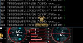 Gigabyte GTX 1070 Ti z-Enemy Renesis RESS Mining Hashrate