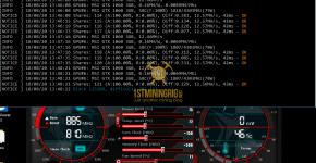 MSI GTX 1060 3GB z-Enemy PHI162 FLM Mining Hashrate