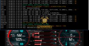 MSI GTX 1080 Ti z-Enemy 1.17 x16s Pigeoncoin Mining Hashrate