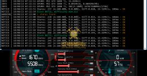 MSI GTX 1080 Ti z-Enemy HEX XDNA Mining Hashrate