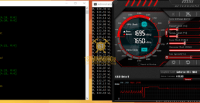 Gigabyte RTX 2080 BitcoinGold Equihash-BTG Mining Hashrate and Power Draw