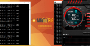 Gigabyte RTX 2080 Ti Monero Mining Hashrate and Power Draw