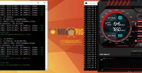 Gigabyte RTX 2080 Ti Ravencoin X16r Mining Hashrate and Power Draw
