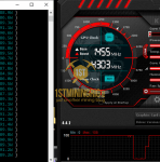 GTX 1060 6GB ProgPow Mining Hashrate TDP 75% with Overclock