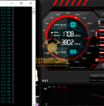 GTX 1060 6GB ProgPow Mining Hashrate TDP 95% Stock Clocks