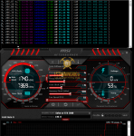 RTX 2080 ProgPow Mining Hashrate TDP 75% with Overclock