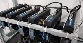 Sapphire Nitro+ RX 580 4GB Mining Rig Beam Equihash 150,5
