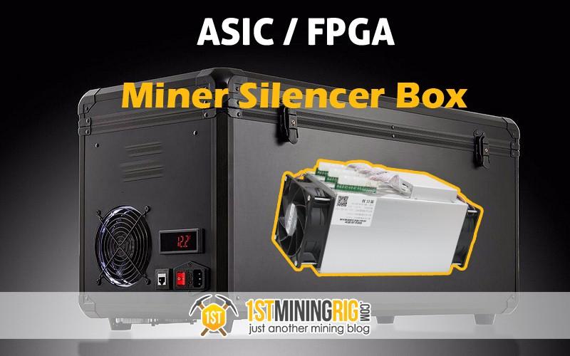 ASIC / FPGA Miner Silencer Box