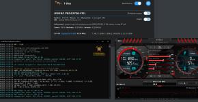 gigabyte rtx 3080 veil progpow-veil mining hashrate stock