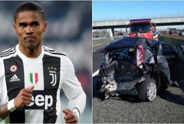 Douglas Costa involved in terrible accident (Photos)