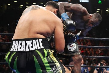 Deontay Wilder retains WBC heavyweight title with swift knockout in New York (Video)