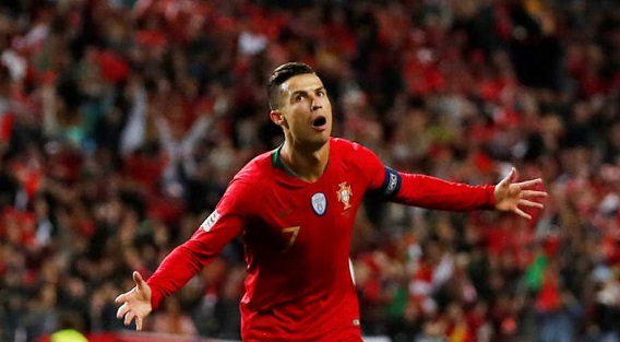 Ronaldo scores landmark 700th goal in Portugal defeat