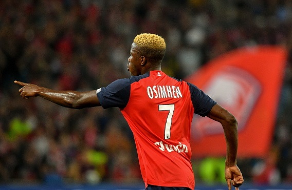 Osimhen named best African player in France