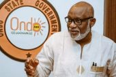 Akeredolu says he won't hand over to 'disloyal' Deputy despite COVID-19 status