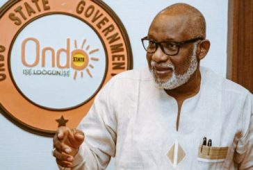 Akeredolu confident of reelection chances in upcoming Ondo governorship polls