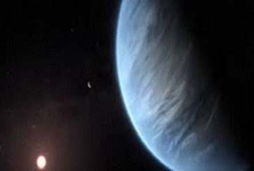 Water vapour discovered in 'potentially habitable' super-Earth exoplanet's atmosphere