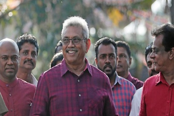 Gotabaya Rajapaksa claims victory in Sri Lanka presidential election