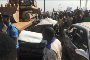 Truck crushes taxi passenger to death in Abuja